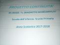 a.s.2017/2018 Progetto continuità